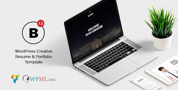Blanco - Creative Resume & Portfolio