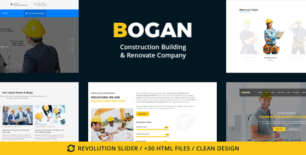 Bogan - Construction Building & Renovate Company