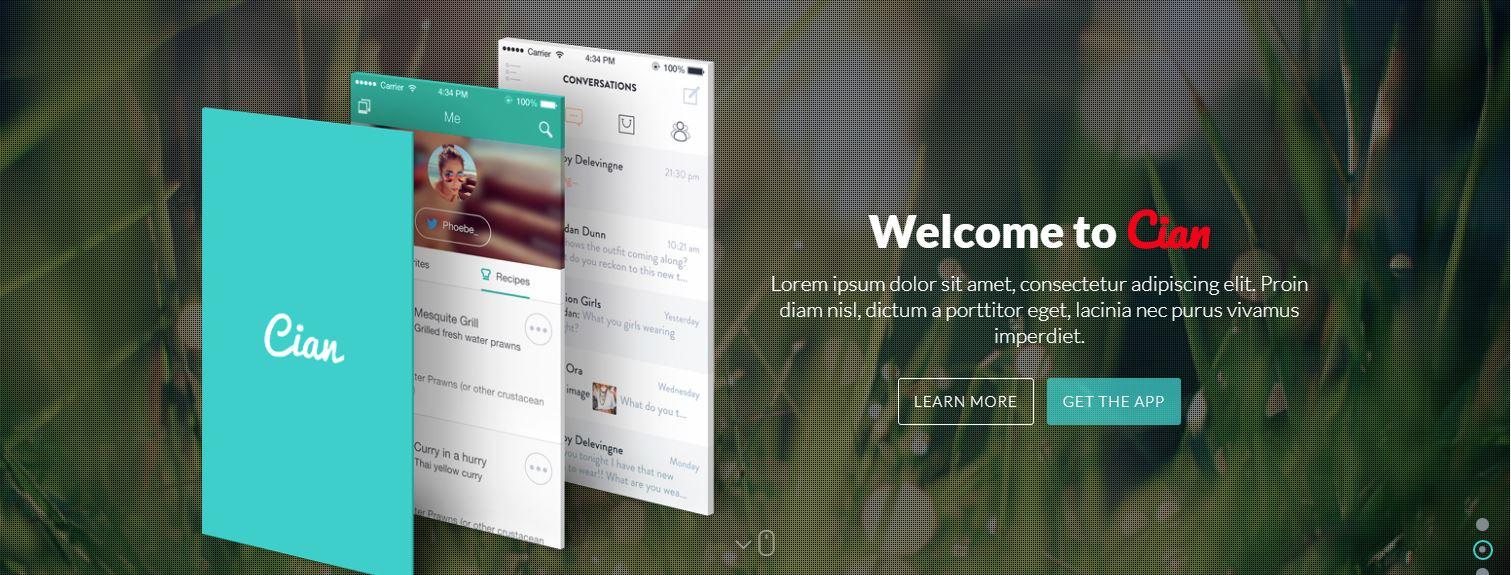 Cian change color screenshot